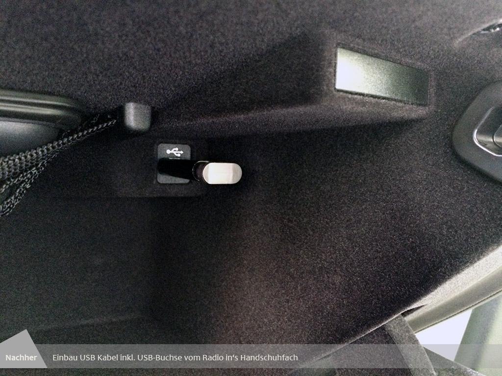 howto usb buchse im handschuhfach nachr sten. Black Bedroom Furniture Sets. Home Design Ideas